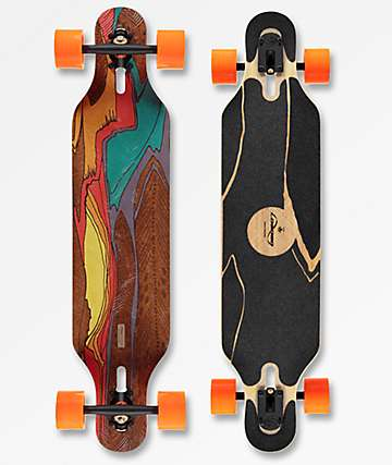 "Loaded Icarus Flex 2 38.5"" Drop Through longboard completo"