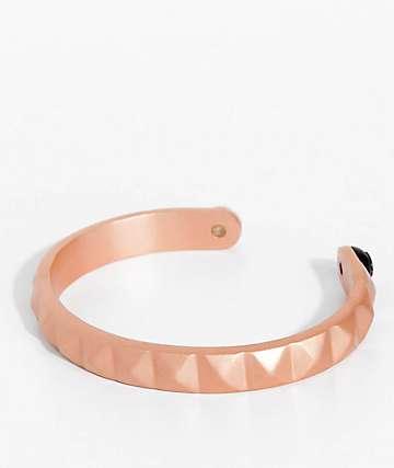 Lokai Cuff Rose Gold Bracelet