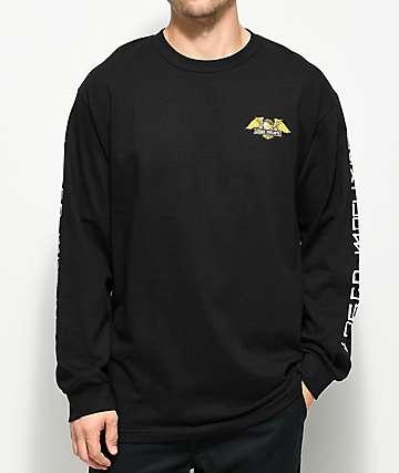 Loser Machine Alleyway Black Long Sleeve T-Shirt
