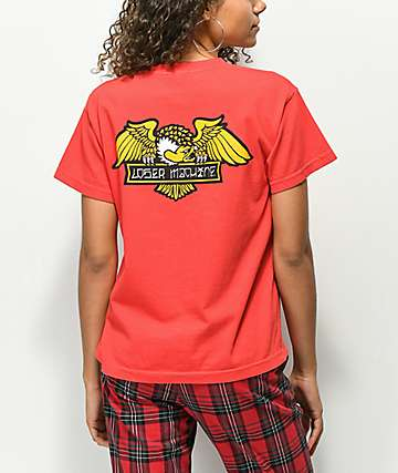 Loser Machine Alleyway Cruiser Red T-Shirt