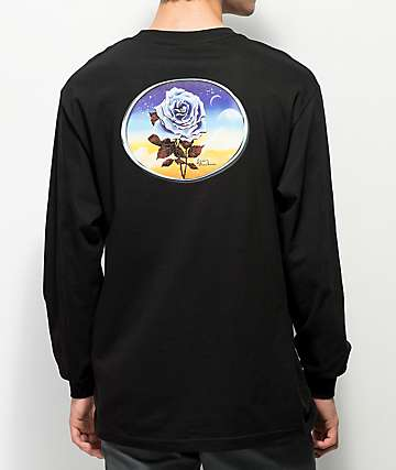 Loser Machine Chrome Rose Black Long Sleeve T-Shirt