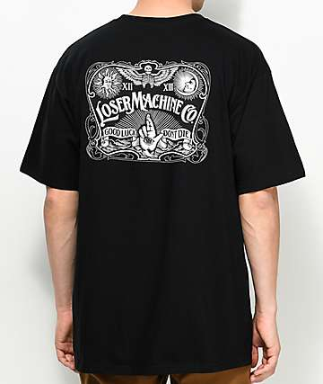Loser Machine Co. Ritualistic camiseta negra