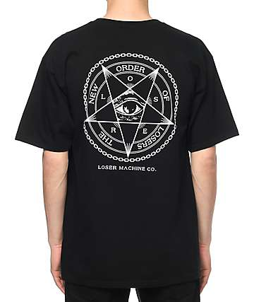 Loser Machine Dark Signs camiseta negra