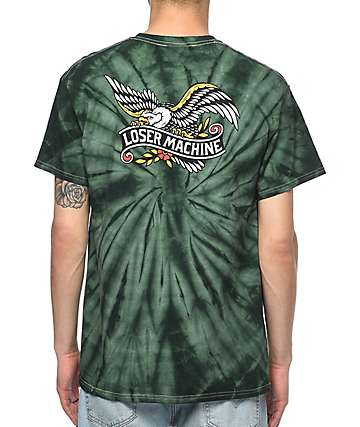 Loser Machine Glory Bound Forest Tie Dye T-Shirt