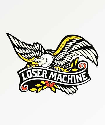 Loser Machine Glory Bound Sticker