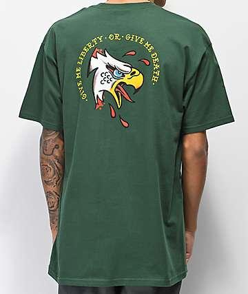 Loser Machine Liberty camiseta verde