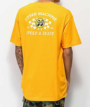 Loser Machine Moon Eyes Holeshot Gold T-Shirt
