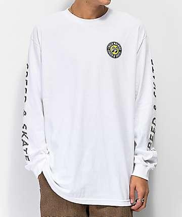 Loser Machine Moon Eyes Overdrive White Long Sleeve T-Shirt