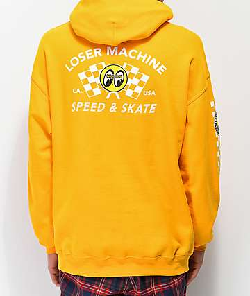 Loser Machine Mooneyes Holeshot Gold Hoodie