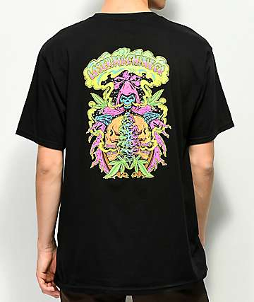Loser Machine Reefer Reaper Black T-Shirt
