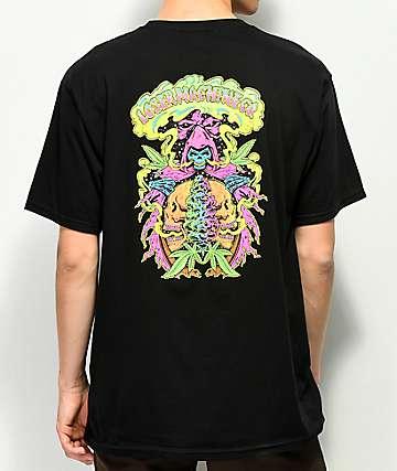 Loser Machine Reefer Reaper camiseta negra