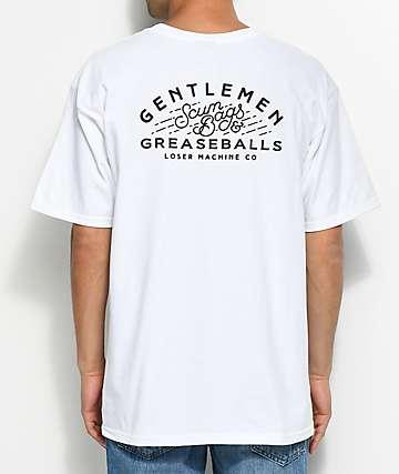 Loser Machine Sideline camiseta blanca