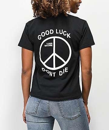 Loser Machine Trenchlight camiseta negra