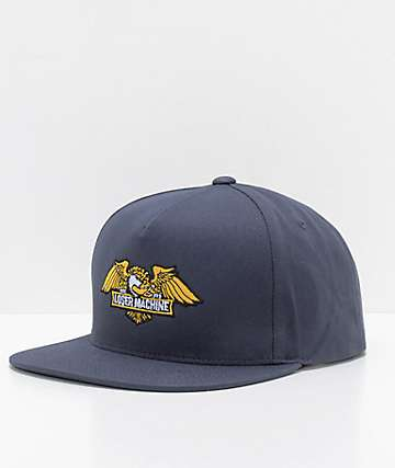 Loser Machine Wings Navy Snapback Hat