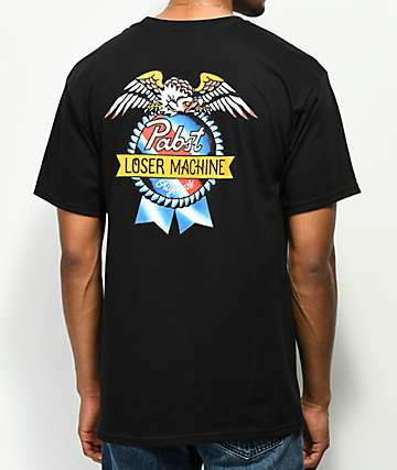 Loser Machine x PBR Originals Black T-Shirt
