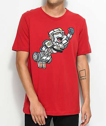 Luckie Losers Rocket Transformers Red T-Shirt