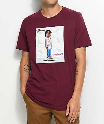 Luckie Losers The Bottoms Birds camiseta en color vino