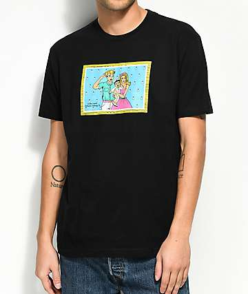 Luckie Losers x Exclusive Delivery The Millers Black T-Shirt