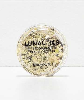 Lunautics 24Kayyy purpurina dorada de estrellas