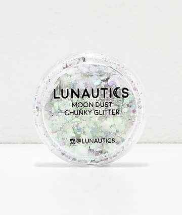 Lunautics Lalaland purpurina iridiscente de estrellas y corazones