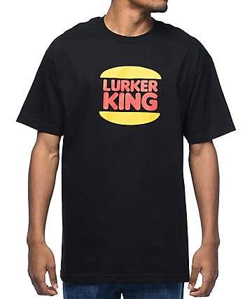 Lurk Hard Lurker King camiseta negra