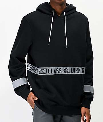 Lurking Class By Sketchy Tank 3M Reflective Logo Tape Hoodie