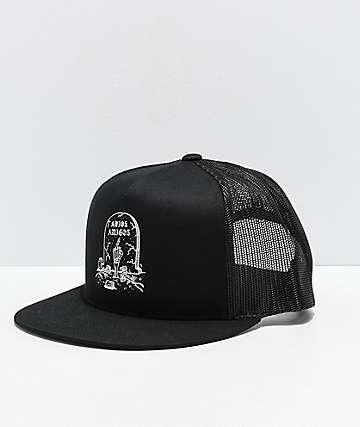 Lurking Class By Sketchy Tank Adios Black Trucker Hat
