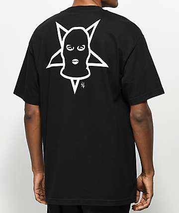 Lurking Class By Sketchy Tank Black T-Shirt