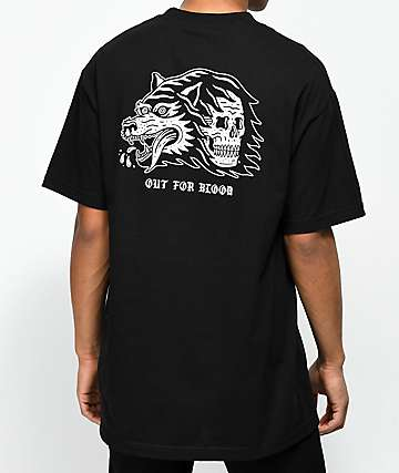 Lurking Class By Sketchy Tank Blood Black T-Shirt
