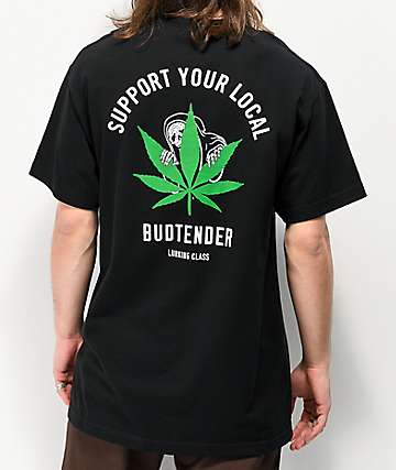 Lurking Class By Sketchy Tank Budtender Black T-Shirt