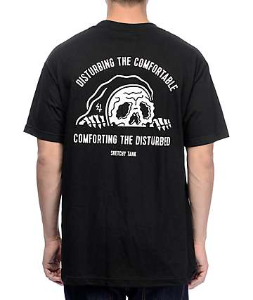 Lurking Class By Sketchy Tank Comfort Black T-Shirt