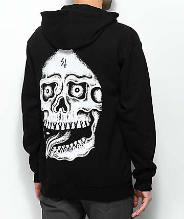Lurking Class By Sketchy Tank Death Black Hoodie