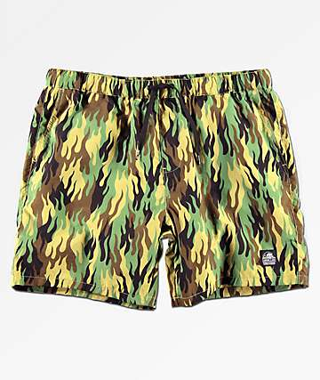 Lurking Class By Sketchy Tank Fuegoflage Board Shorts