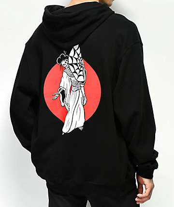 Lurking Class By Sketchy Tank Geisha Black Hoodie