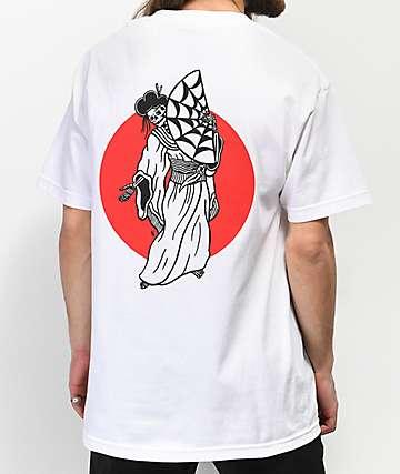 Lurking Class By Sketchy Tank Geisha camiseta blanca