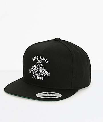 Lurking Class By Sketchy Tank Good Times Snapback Hat