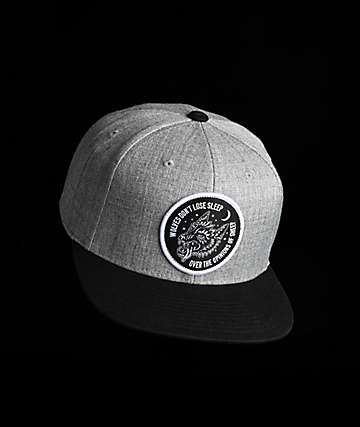 Lurking Class By Sketchy Tank Opinions Grey Snapback Hat