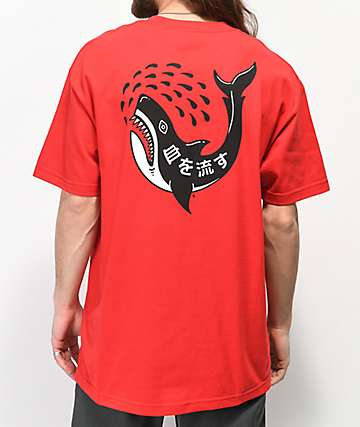 Lurking Class By Sketchy Tank Out For Blood camiseta roja