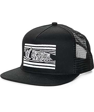 Lurking Class By Sketchy Tank Peeking Black Snapback Hat