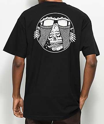 Lurking Class By Sketchy Tank Under Black T-Shirt