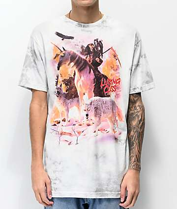 Lurking Class By Sketchy Tank Uni Reaper Grey T-Shirt