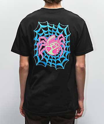Lurking Class By Sketchy Tank Web Color camiseta negra