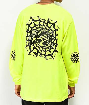 Lurking Class By Sketchy Tank Web Safety Green Long Sleeve T-Shirt