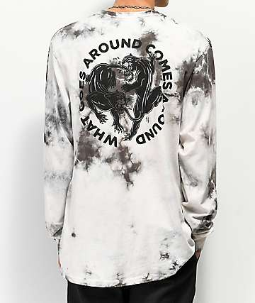Lurking Class By Sketchy Tank What Goes Around Tie Dye Long Sleeve T-Shirt