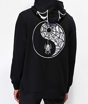 Lurking Class By Sketchy Tank Widow Black Hoodie