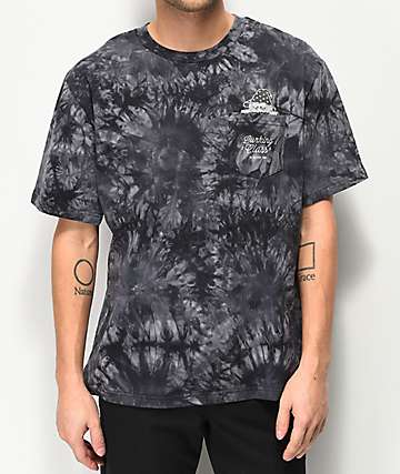 Lurking Class By Sketchy Tank Wizard Pocket Black Tie Dye T-Shirt