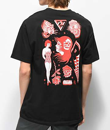 Lurking Class by Sketchy Tank Artoo Black T-Shirt