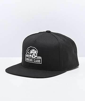 Lurking Class by Sketchy Tank Black Snapback Hat