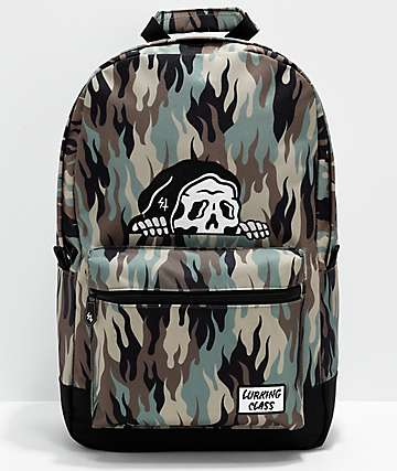 Lurking Class by Sketchy Tank Fuegoflage Backpack