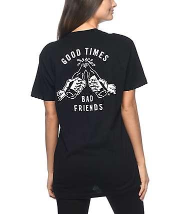 Lurking Class by Sketchy Tank Good Times camiseta negra